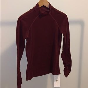 Fabletics Burgundy Sweater size XS (2-4)